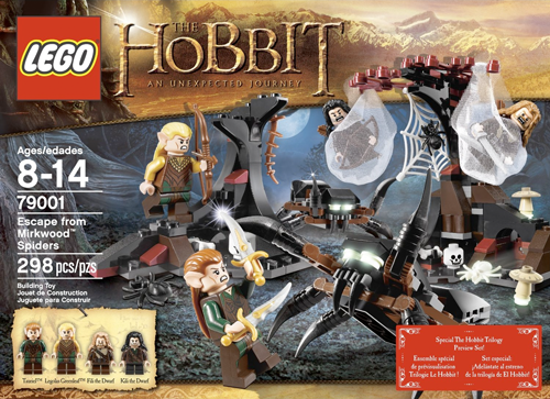 79001 Escape from Mirkwood Spiders