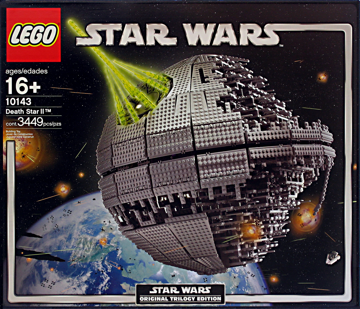 lego millenium falcon with impressive indoor detail