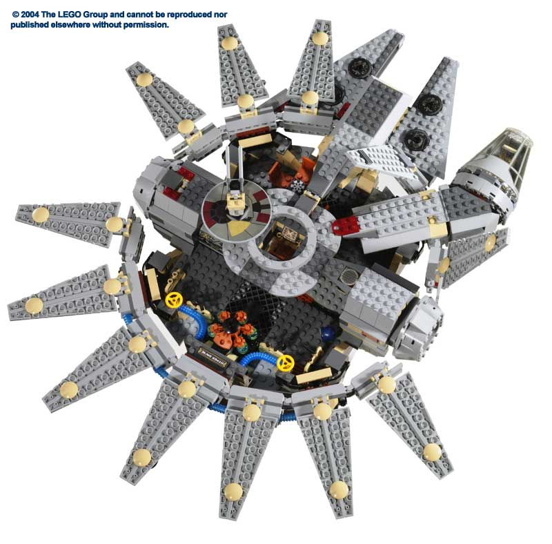 LEGO Star Wars Review: 4504 Millennium Falcon | From Bricks To Bothans