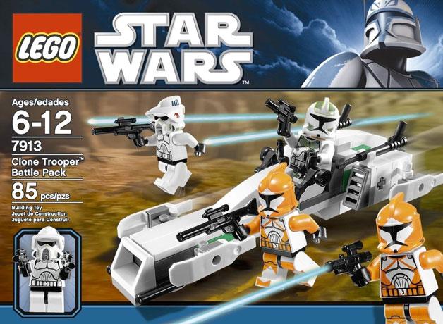 Clone Battle Pack 2012 7913 Clone Trooper Battle Pack