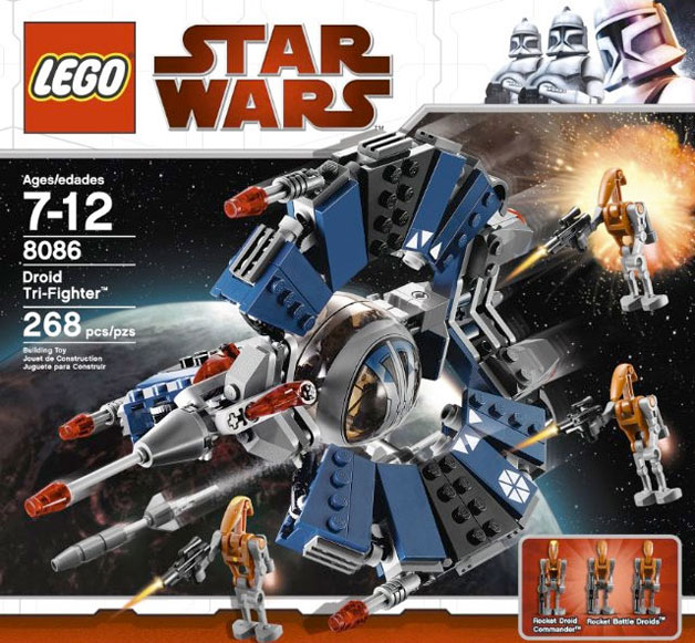 8086 droid tri fighter
