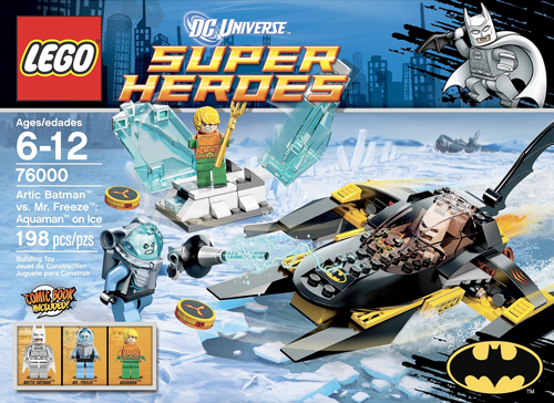 76000 Arctic Batman vs. Mr Freeze: Aquaman on Ice