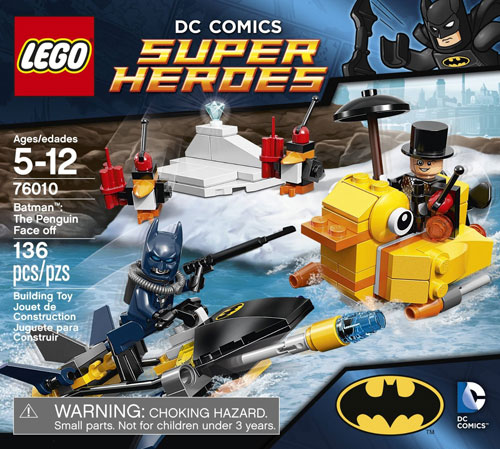 LEGO Superheroes 76010 Batman: The Penguin Face Off