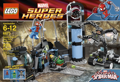 6873 Spider-Man's Doc Ock Ambush