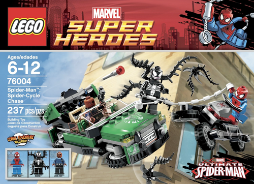 76004 Spider-Cycle Chase