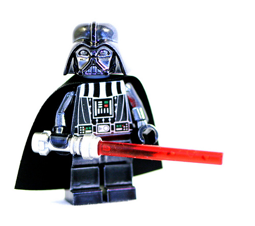 Chrome Darth Vader