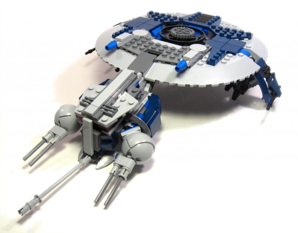 Droid Gunship Instructions Review 7678 Droid Gunship