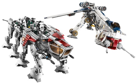 10195 Republic Dropship and AT-OT