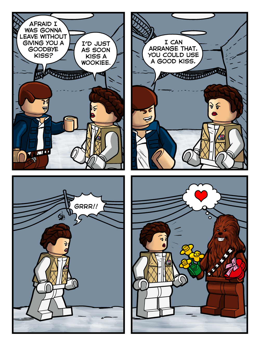 Bricklandia Comic #1