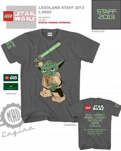 Star Wars Weekend Volunteer Shirt