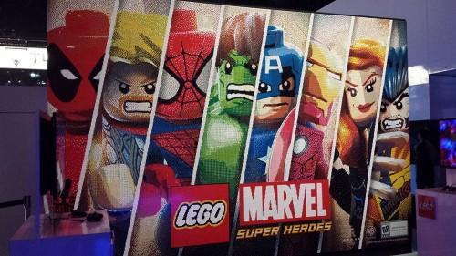 LEGO Marvel Mosaic