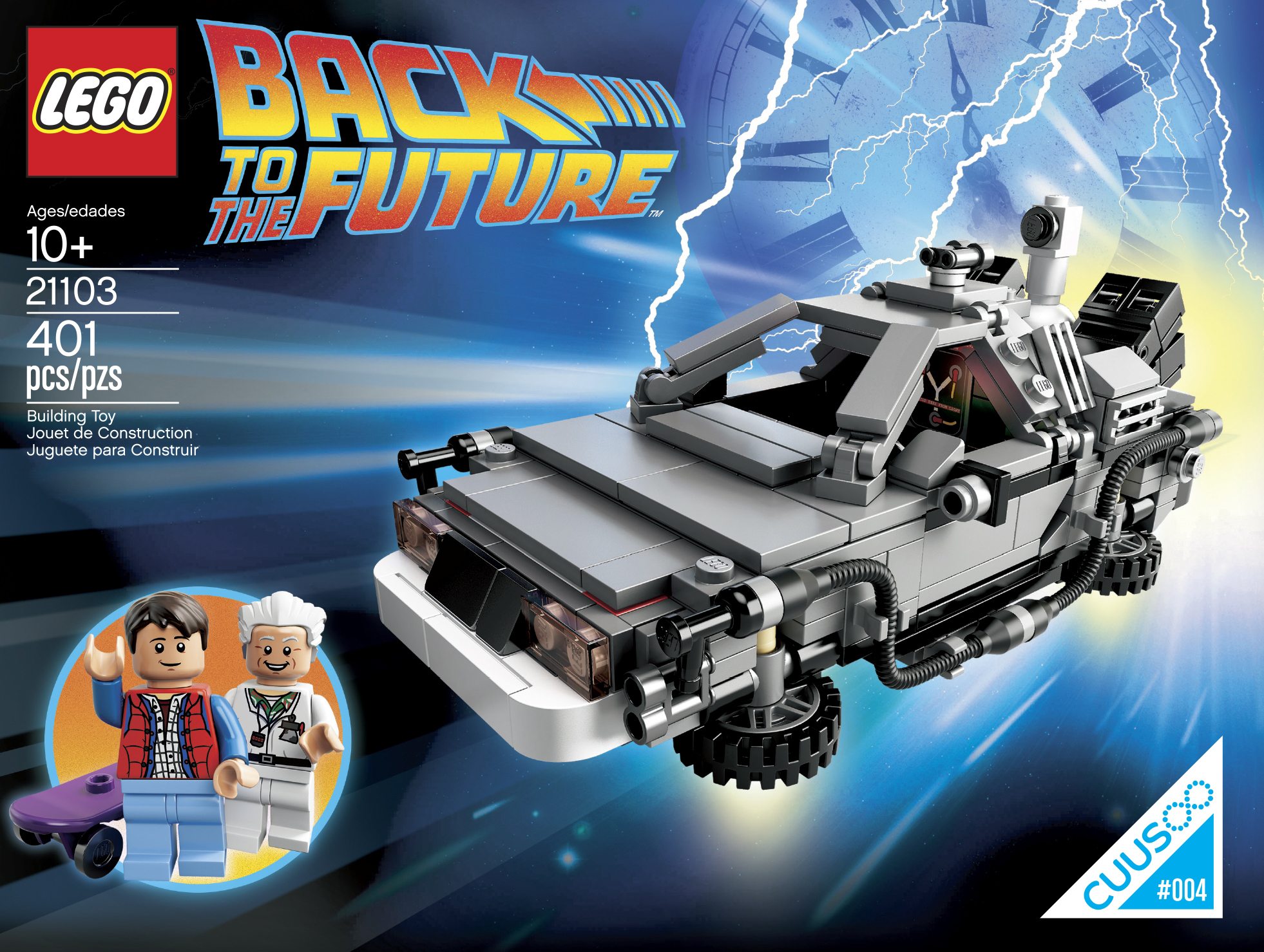 21103 Back To The Future Time Machine Images Revealed