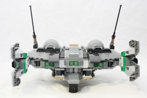 Black Zero Dropship - Back