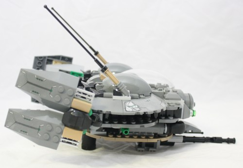 Black Zero Dropship - Side