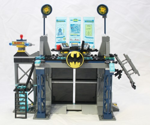 Center, Front - Batcomputer, Doors, Ladder