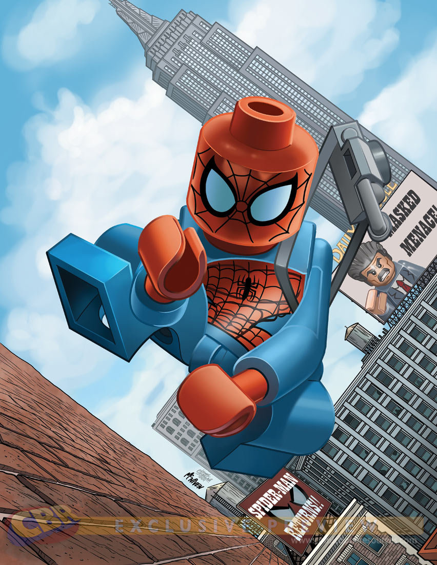 Lego marvel super heroes the video game lego variant - Lego spiderman 3 ...