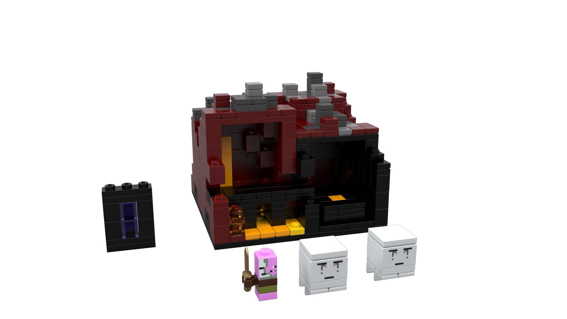 Sdcc lego announces minecraft collection