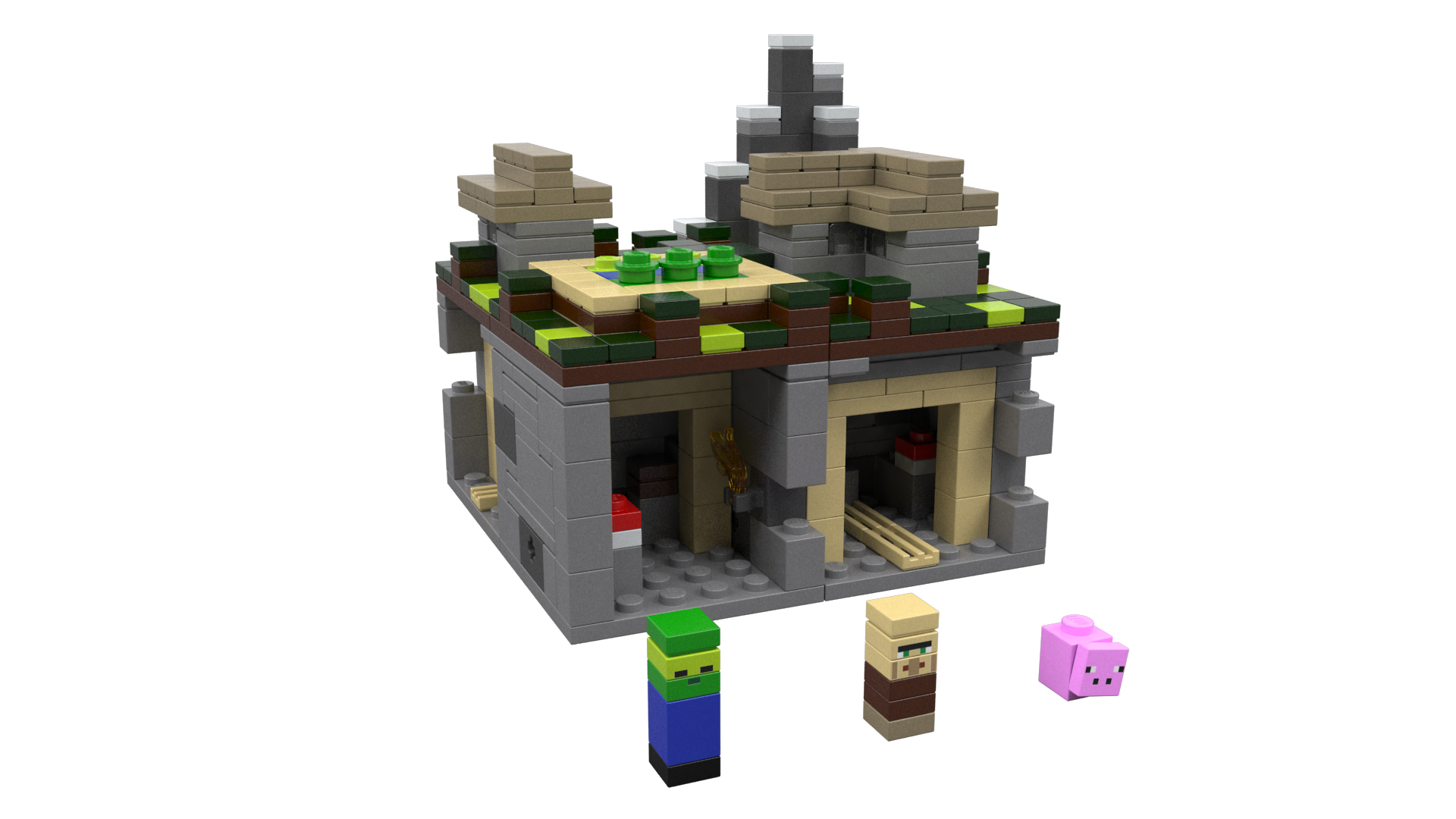 Sdcc] lego announces minecraft collection