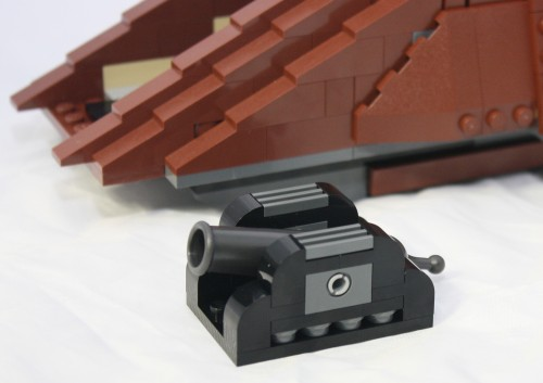 how to build a lego cannon moden