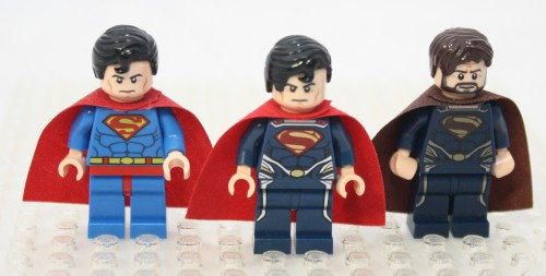 Superman, Superman, and Jor-El