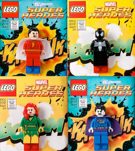 SDCC 2012 Minifigs