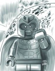 All New X-Men #17 - LEGO Sketch Variant