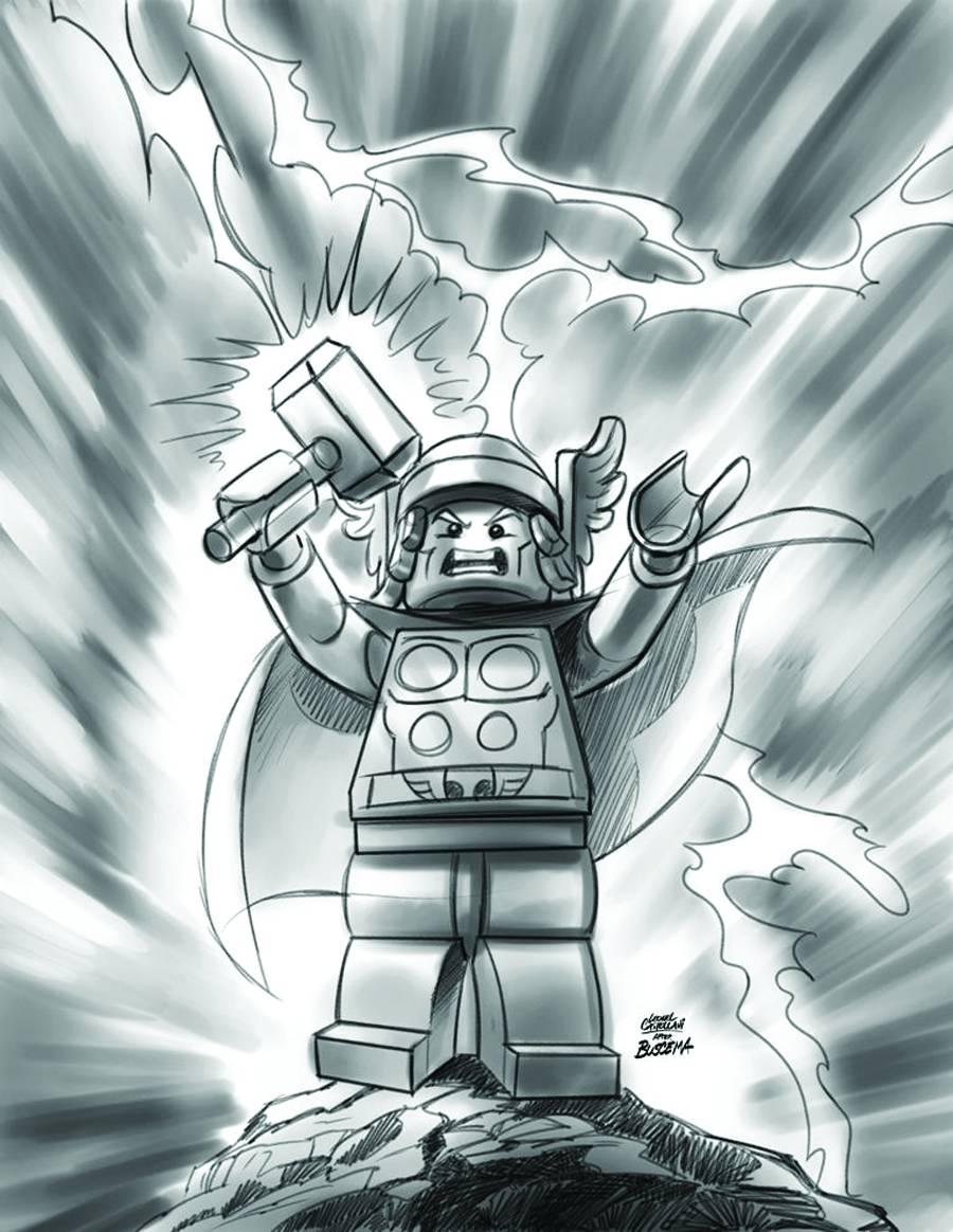 Lego Avengers Coloring...