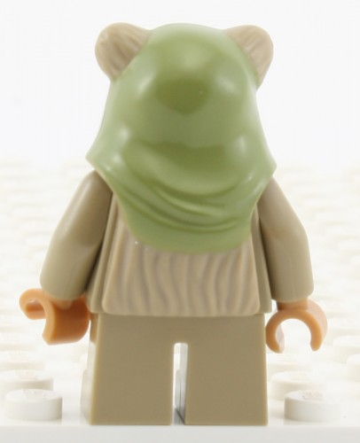 Ewok (Green Hood) - Back
