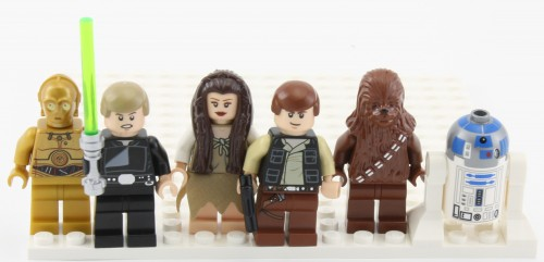 Minifigs - Main Characters