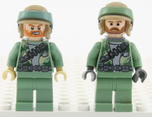 Rebel Commando (Beard) - Comparison