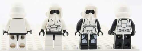 Scout Troopers - Comparison