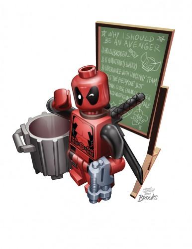 Secret Avengers #10 - LEGO Variant