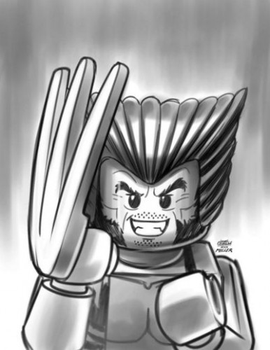 X-Men #5 - LEGO Sketch Variant