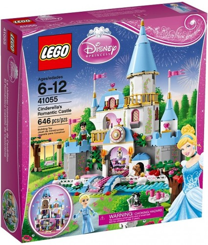 41055 Cinderella's Romantic Castle 1