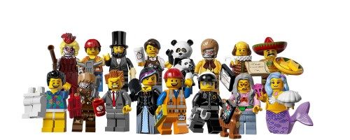 71004 LEGO Minifigures Series 12 - THE LEGO MOVIE