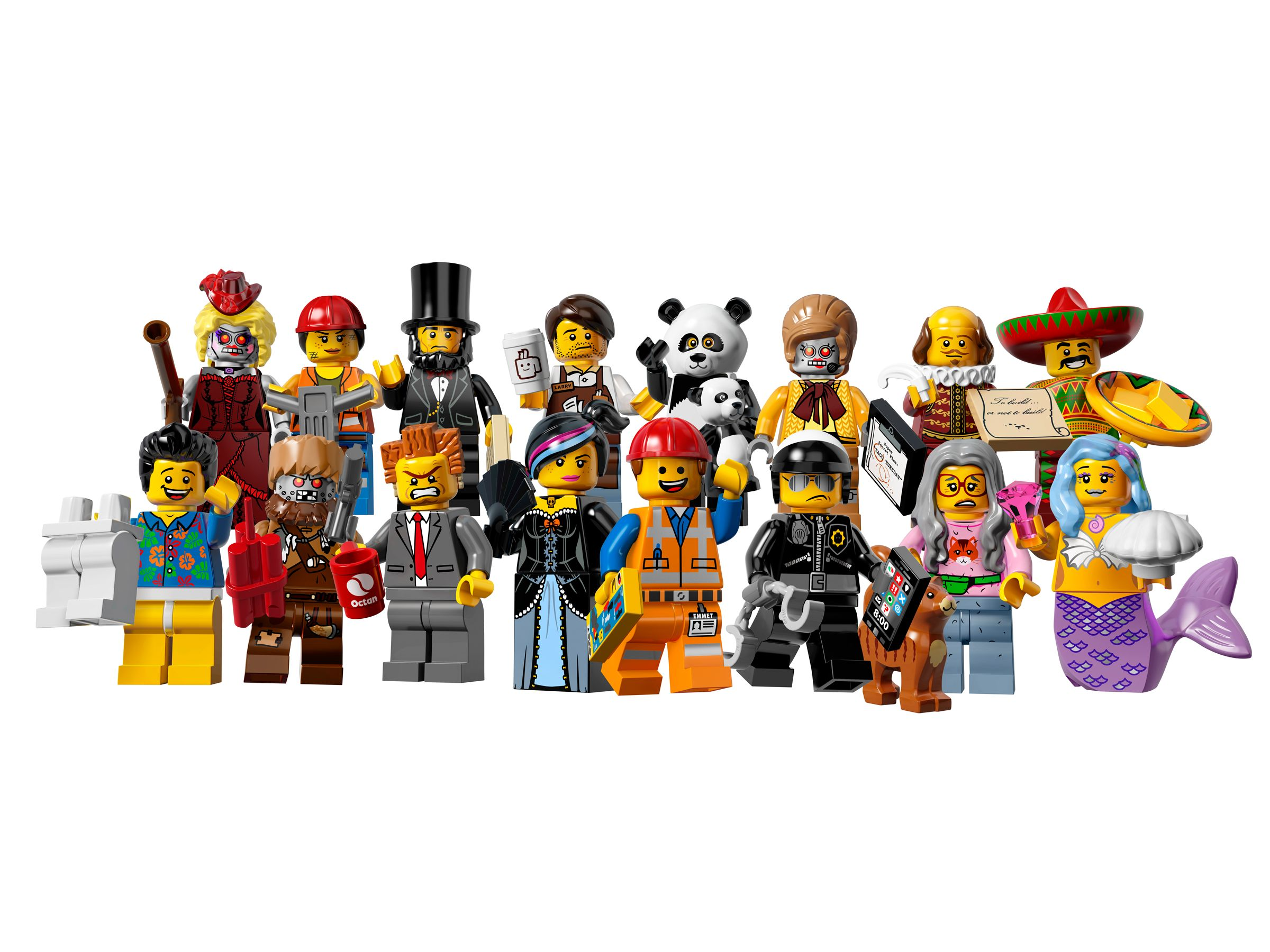Review: 71004 LEGO Minifigures – The LEGO Movie Series