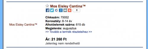 75052 Mos Eisley Cantina