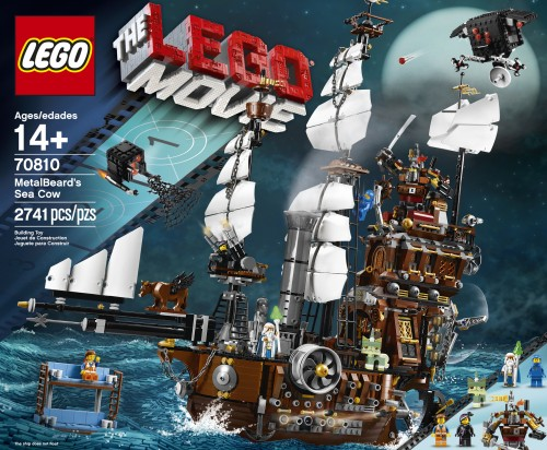 70810 Metal Beard's Sea Cow