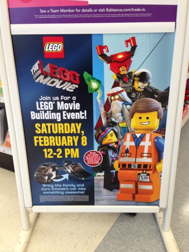 LEGO Movie Build Event