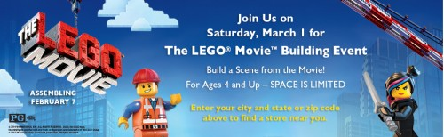 The LEGO Movie Building Event