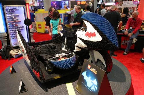 LEGO Batcycle 1
