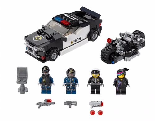 70819 Bad Cop Car Chase Set