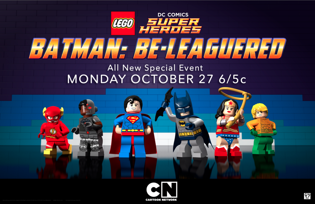Lego DC Comics: Batman Be-Leaguered is a animated superhero television ...