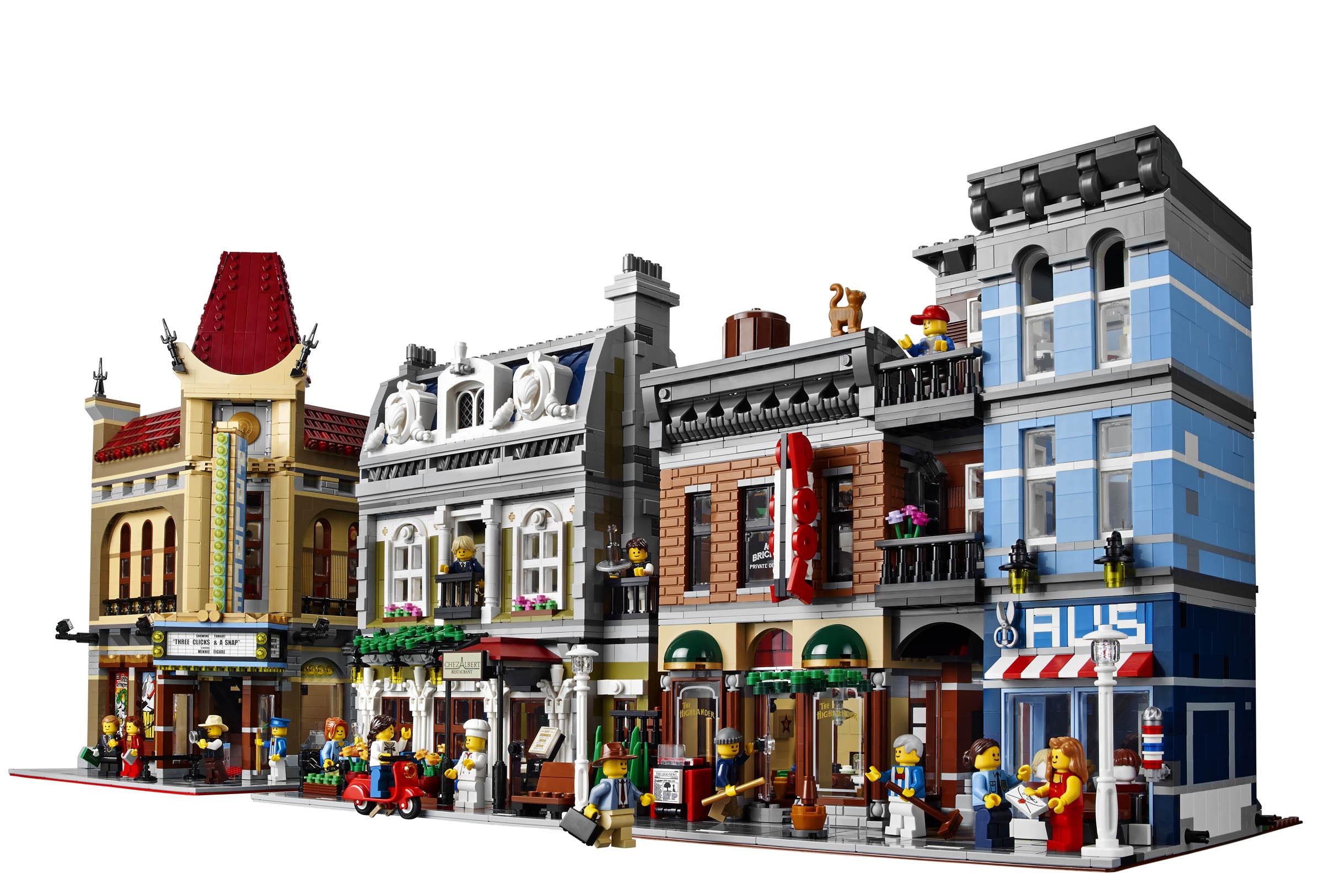 lego creator expert series 10246 detective agency new. Black Bedroom Furniture Sets. Home Design Ideas