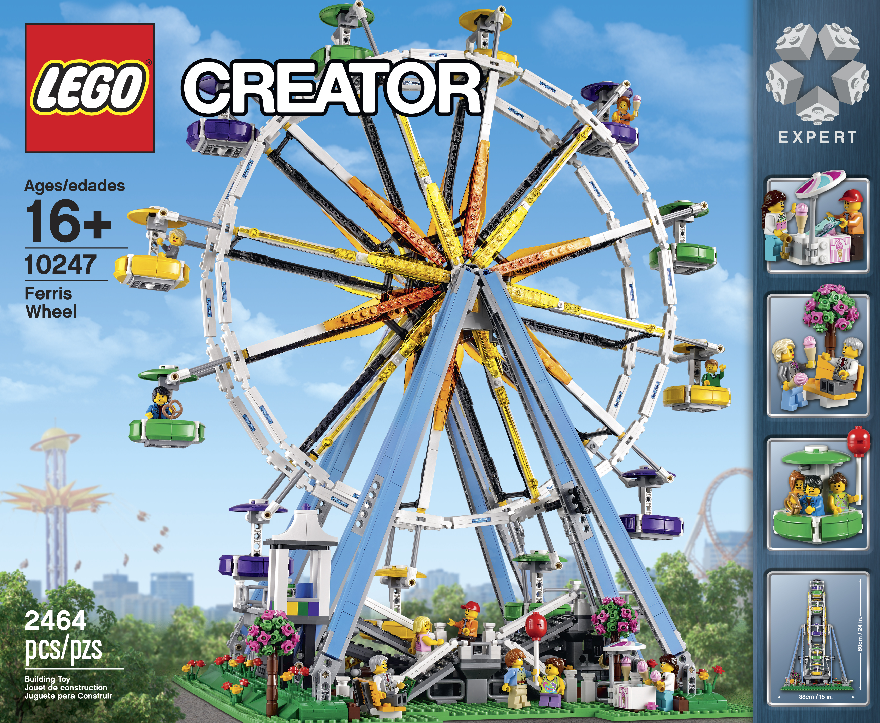 lego star wars forum from bricks to bothans view topic lego reveals 10247 ferris wheel. Black Bedroom Furniture Sets. Home Design Ideas