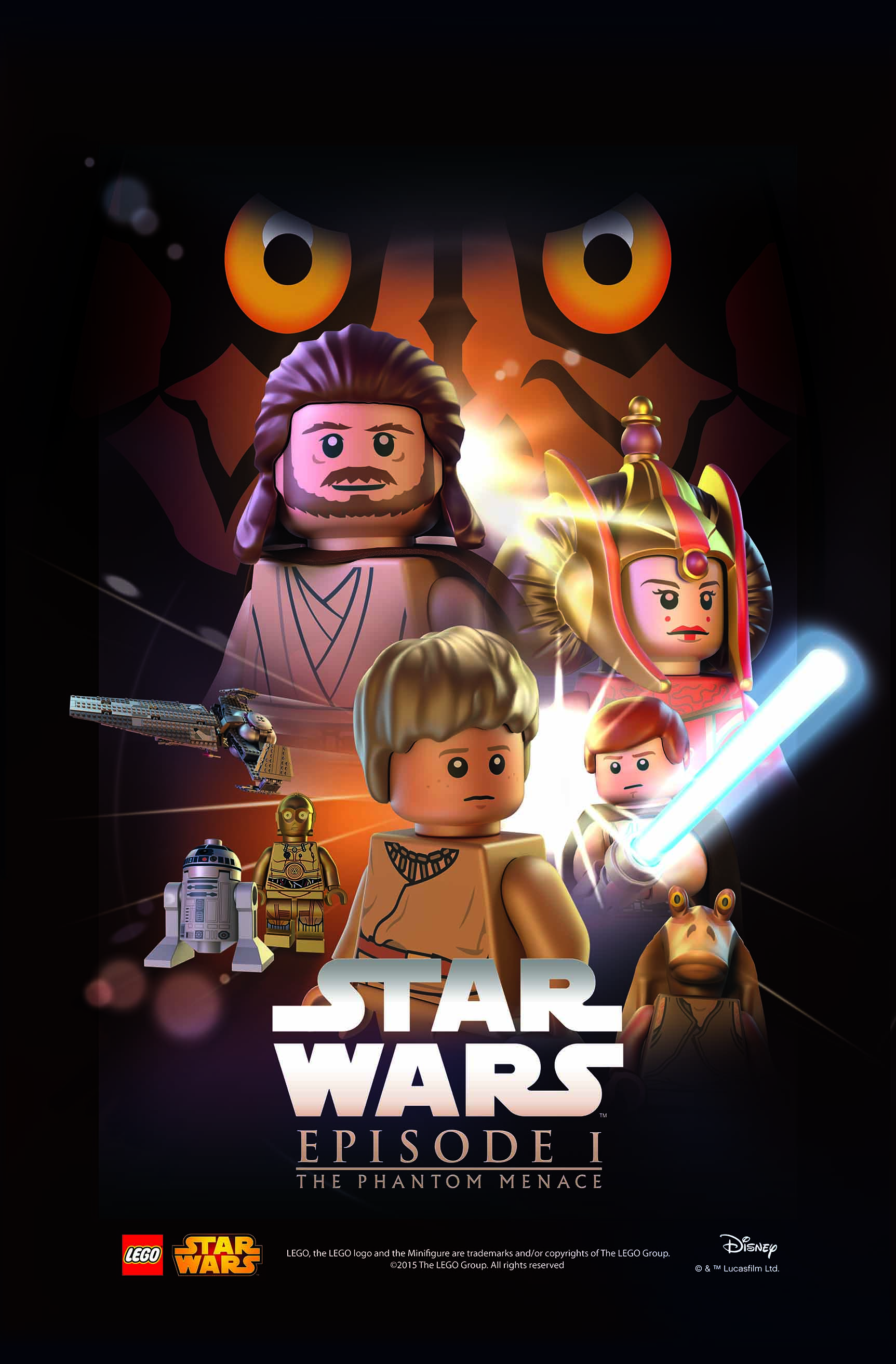 star wars in lego movie
