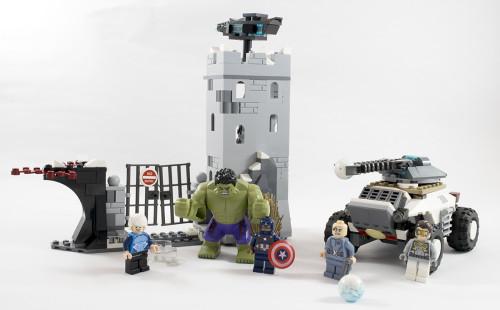 76041 Hydra Fortress Smash Full Set