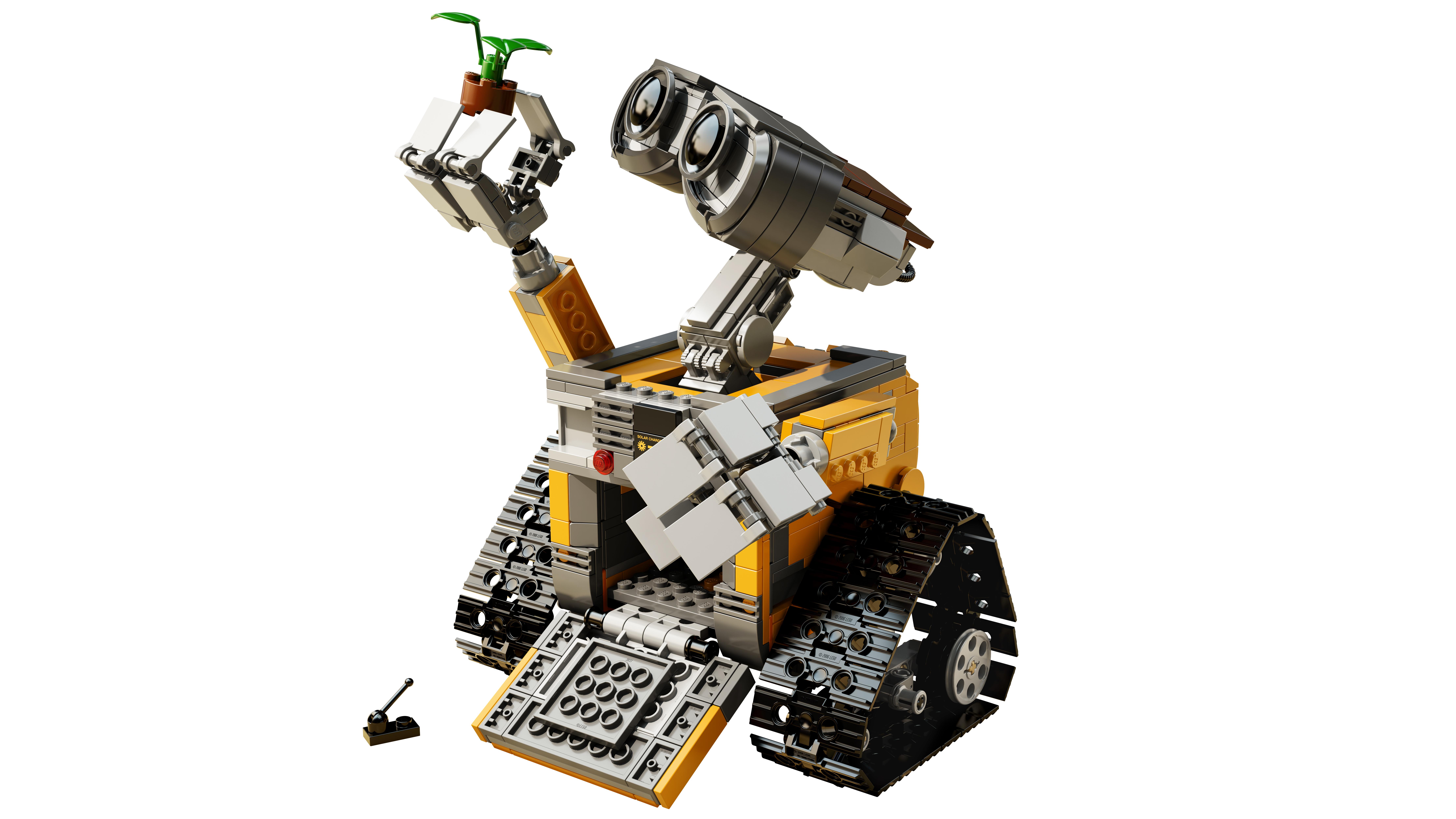 LEGO Ideas News: D23 LEGO and Disney Unveil WALL•E at ...