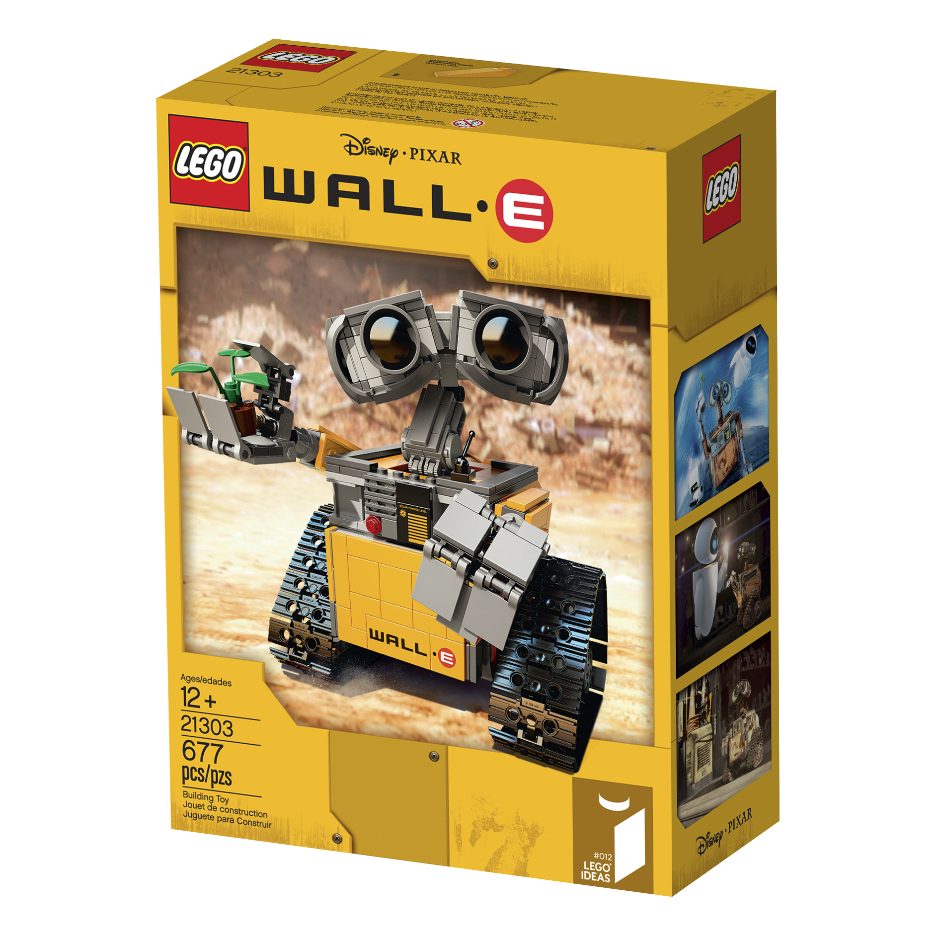 lego ideas news d23 lego and disney unveil wall e at d23 from bricks to bothans. Black Bedroom Furniture Sets. Home Design Ideas