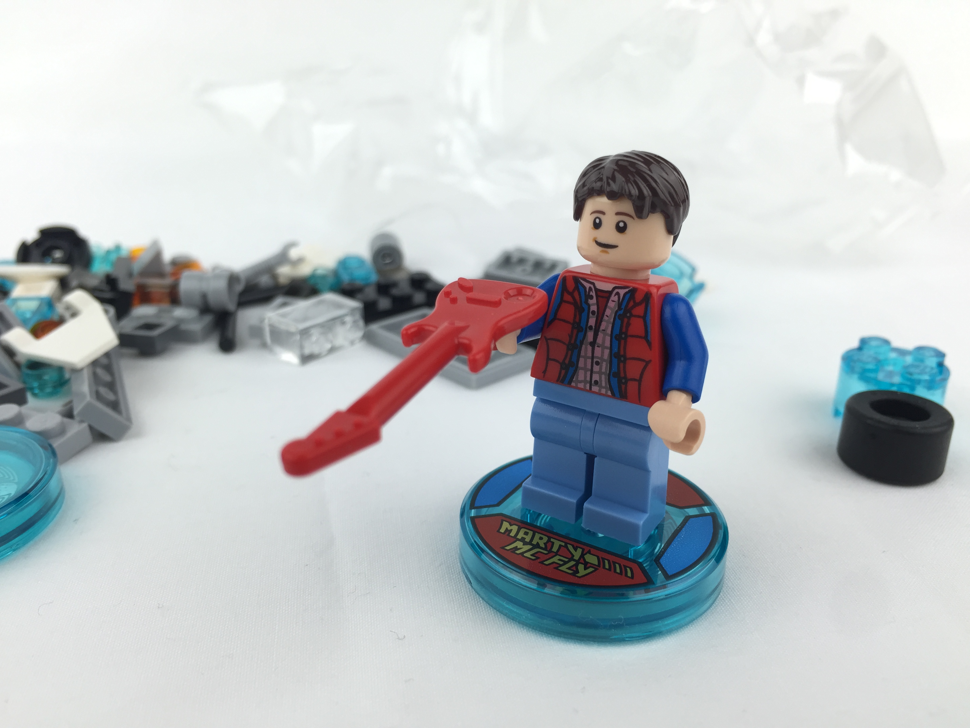 lego dimensions back to the future level pack instructions